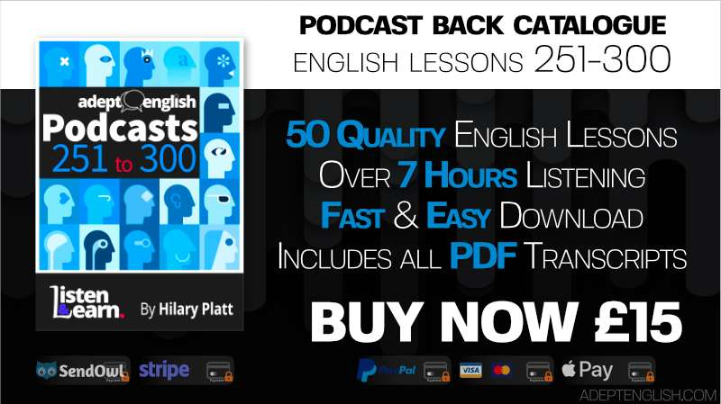 All of out English audio lessons designed to help you speak English fluently.