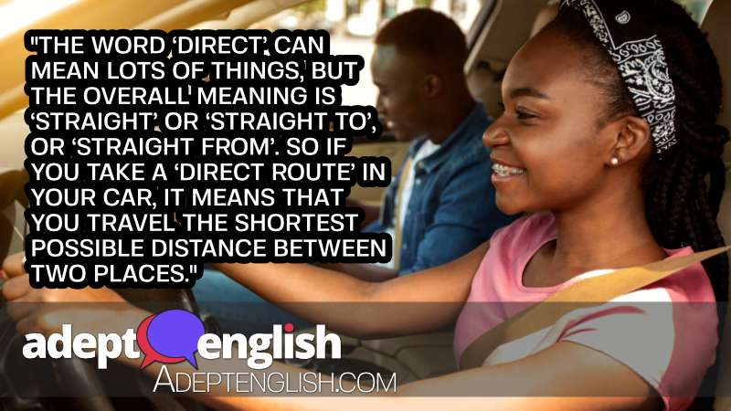 A photograph of an African girl taking driving test with professional instructor, a topic discussed in this English language grammar lesson.