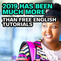 Smiling African student reflecting about future used in the Adept English 2019 year update English tutorial.