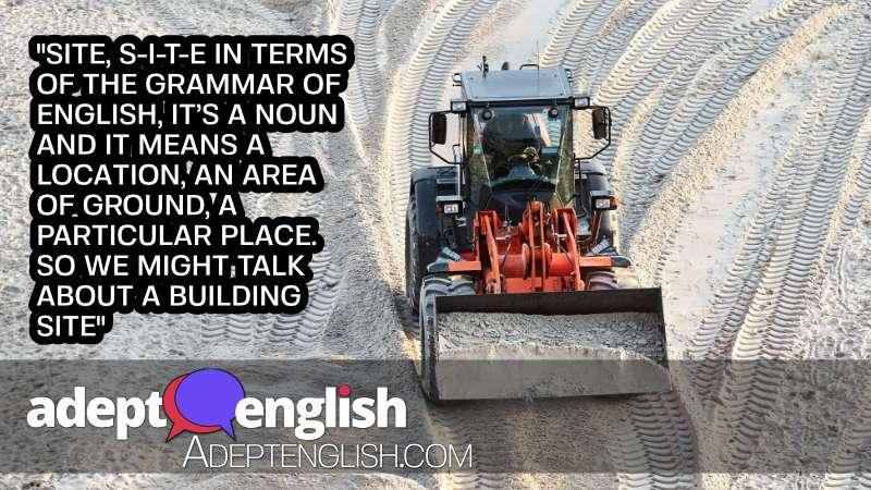 A photograph of a bulldozer on a building site.