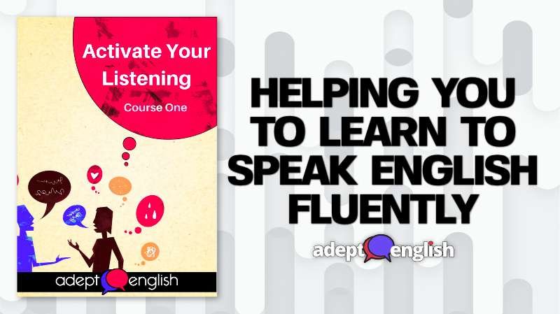 The Adept English Language course 10% discount for people who complete the 7 Rules of Adept English course.